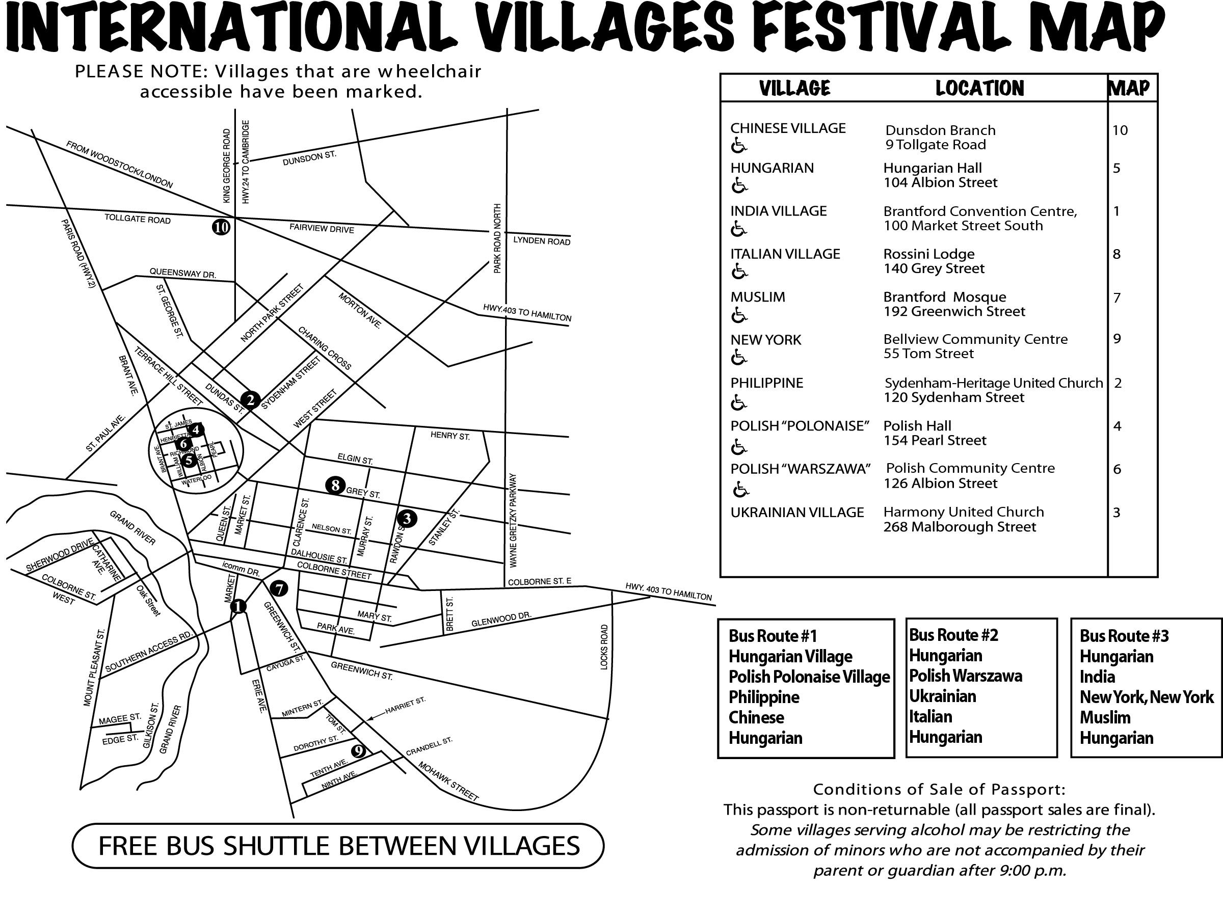 International Villages Cultural Festival Brantford International